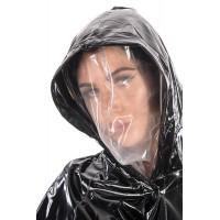 KF PVC Plastik - Zusatzkapuze / Gesichtsmaske für Regenmäntel HO25 INNER HOOD