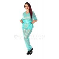 KF PVC Plastik - Pflege-Kasack mit Hose UN37 SCRUBS