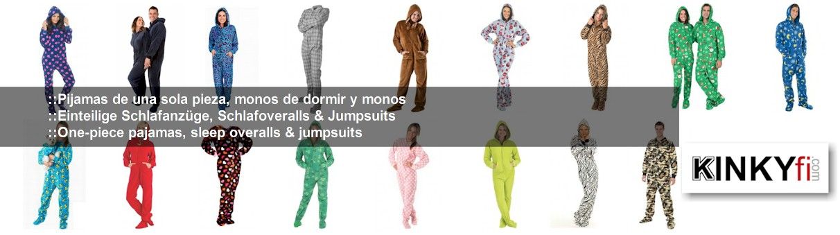 Schlafoverall Jumpsuits