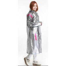 KF PVC Plastik - Mantel Regenmantel Folienmantel Plastikregenmantel Taiwan-Style RA97