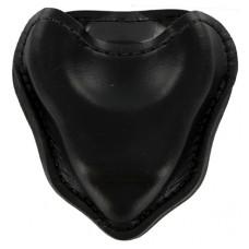 HIATT / SAFARILAND - Handschellentasche Holster offen schwarz für Ketten-Handschellen
