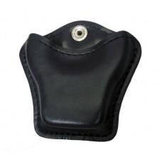 HIATT / SAFARILAND - Handschellentasche Holster offen schwarz für Scharnier-Handschellen