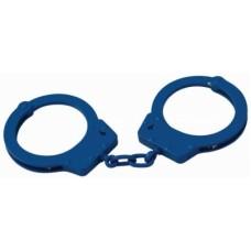 CTS-Thompson - OS Handfesseln Handschellen groß Kette 1003CBLUE Carbonstahl Blau