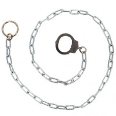 CHICAGO - 3010 Führungskette mit einer Handschelle (halbe Handschellen) lange Kette Ring X55