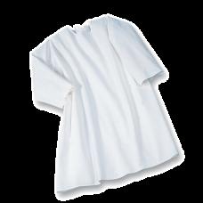 9cdc83239b Suprima 4061-001 - Pflegehemd Baumwolle, zum Binden, Langarm weiß 40/42