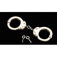 ALCYON - 5010 Handfesseln Handschellen Kette vernickelt
