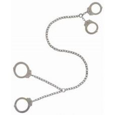 PEERLESS - 700CTC-32 Bauchfessel Fesselkombi Handschellen mittig + Fußschellen