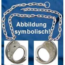 CLEJUSO - BF/13 Bauchfessel Bauchkette Handschellen Nr.13 seitlich vernickelt