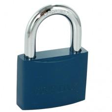 CUFF LOCK - CLOKBLUE Vorhängeschloss Padlock für standard Handschellen-Schlüssel blau