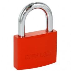 CUFF LOCK - CLOKORANGE Vorhängeschloss Padlock für standard Handschellen-Schlüssel orange