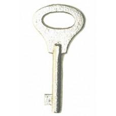CLEJUSO - E/S12 Schlüssel Ersatzschlüssel Vollschlüssel für Handschellentyp Nr.12
