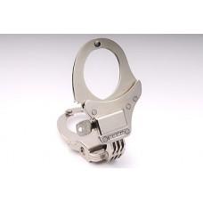 CLEJUSO - Nr. 101A Hochsicherheits-Handschellen Scharnier, kleinere Schellen vernickelt