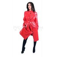 KF PVC Plastik - Mantel Regenmantel RA54 LADIES 50s MAC