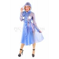 KF PVC Plastik - Damen - Mantel Regenmantel Plastikregenmantel RA69 ROMANTICA RAINCOAT - ALLE GRÖSSEN UND FARBEN