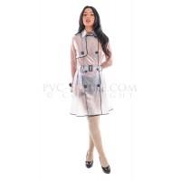KF PVC Plastik - Fashion Regenmantel Kurzmantel RA81 GEORGINA RAINCOAT