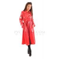 KF PVC Plastik Mantel Regenmantel 60er Style RA28 LADIES
