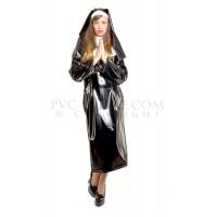 KF PVC Plastik - Nonnen Outfit Kostüm UN10 NUNS OUTFIT